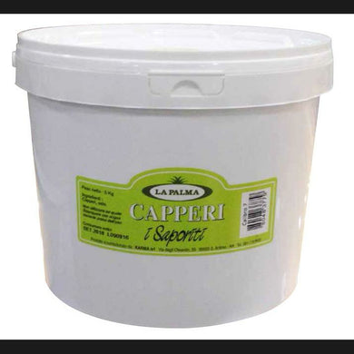LA PALMA CAPPERI     5 KG (5 in a box)