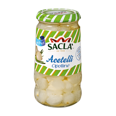 SACLA' ACETELLI CIPOLLINE     300 GR (12 in a box)