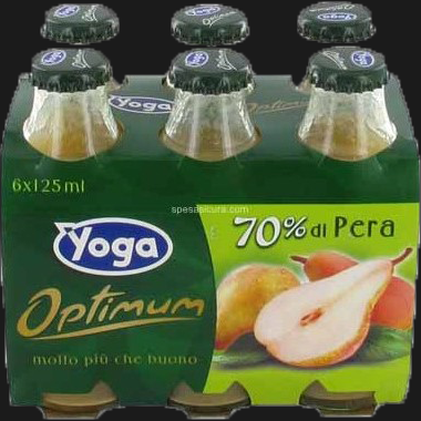 YOGA OPTIMUM SUCCO PERA CONFEZIONE 125ML X6 (8 in a box)