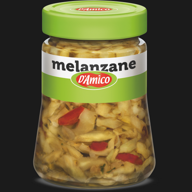 D'AMICO MELANZANE A FILETTI   280 GR (8 in a box)