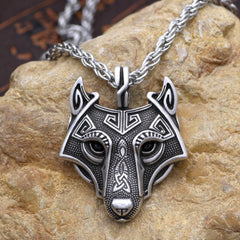 Image of Fenrir: Norse Vikings - Necklace
