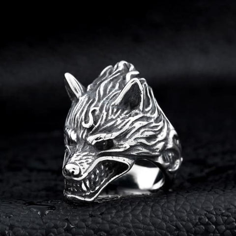 Fenrir Ring - 7 / Exquisite Wolf Ring