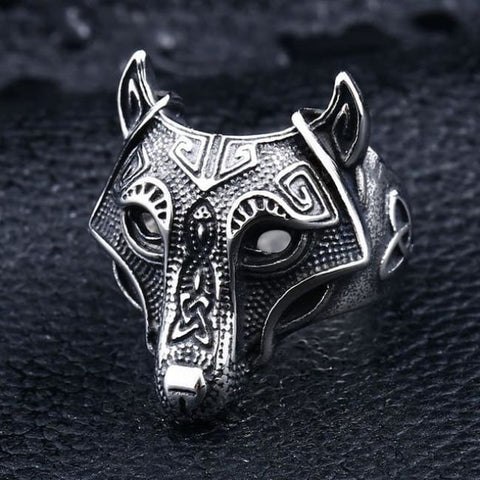 Fenrir Ring - 7 / Viking Wolf Ring
