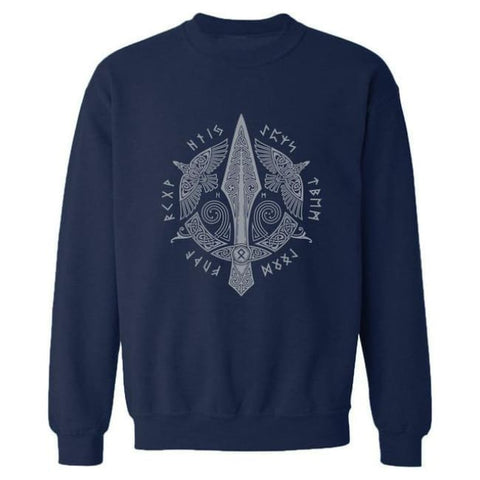 Gunnlogi Sweatshirt - Dark Blue / S