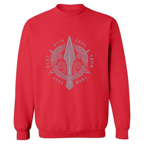 Gunnlogi Sweatshirt - Red / S