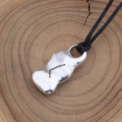 Individual Rune Adjustable Necklace - Photo Style 2 / With Box / Adjustable