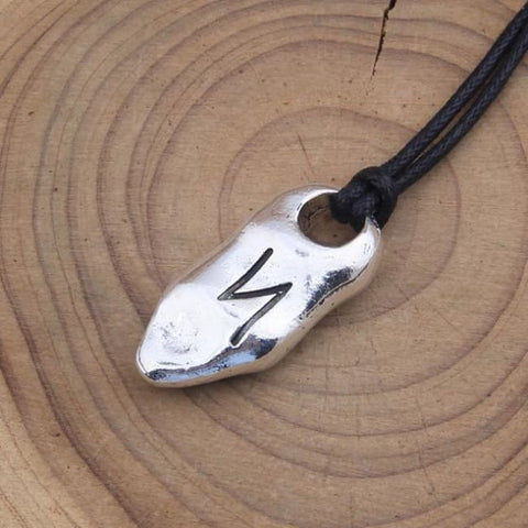 Individual Rune Adjustable Necklace - Photo Style 5 / With Box / Adjustable
