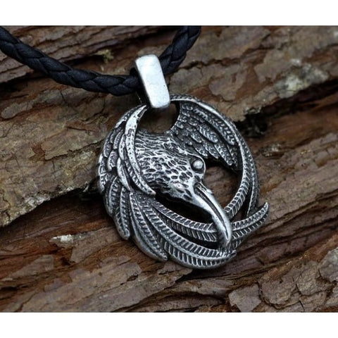 Odins Ravens - Huginn and Muninn: Necklace