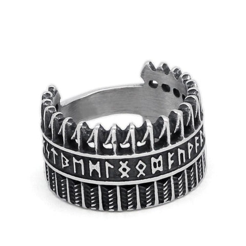 Runic Crown Ring