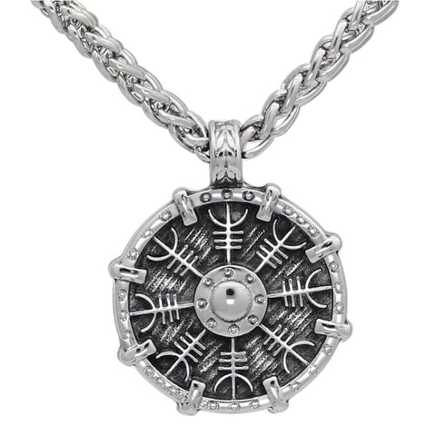 Shield & Compass - Necklace