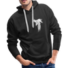 Image of Men's Premium Crow Hoodie - black