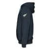 Image of Men's Premium Crow Hoodie - navy
