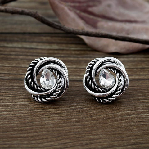 Vikings Earrings With Water Droplets - Earrings