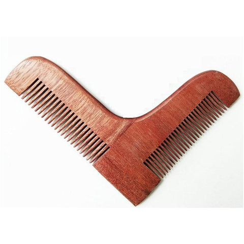 Wooden Beard Shaping Tool