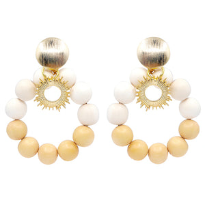 Statement summer earrings