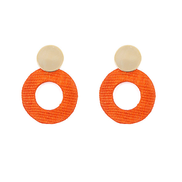 THE FRAN Upcylced Hand-Crafted Statement Earrings