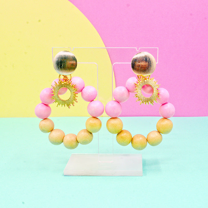 Summer sun earrings