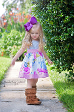 Load image into Gallery viewer, Baby, Toddler, & Girls Twyla Knit Bodice Dress