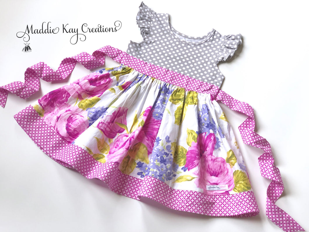 Baby, Toddler, & Girls Twyla Knit Bodice Dress