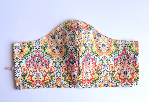 Adult Small Moroccan Inspired Print Mask