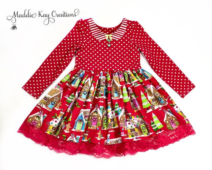 Gingerbread Heaven Holiday Dress