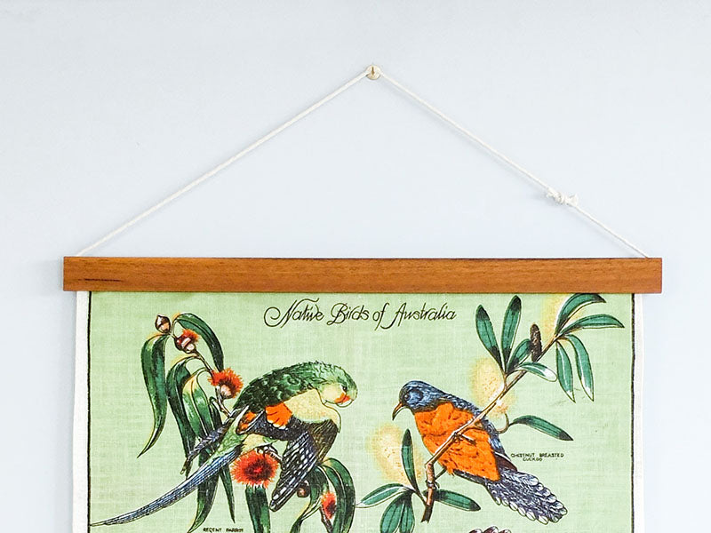 Tea Towel Frame by Corner Block Studio - How to Hang