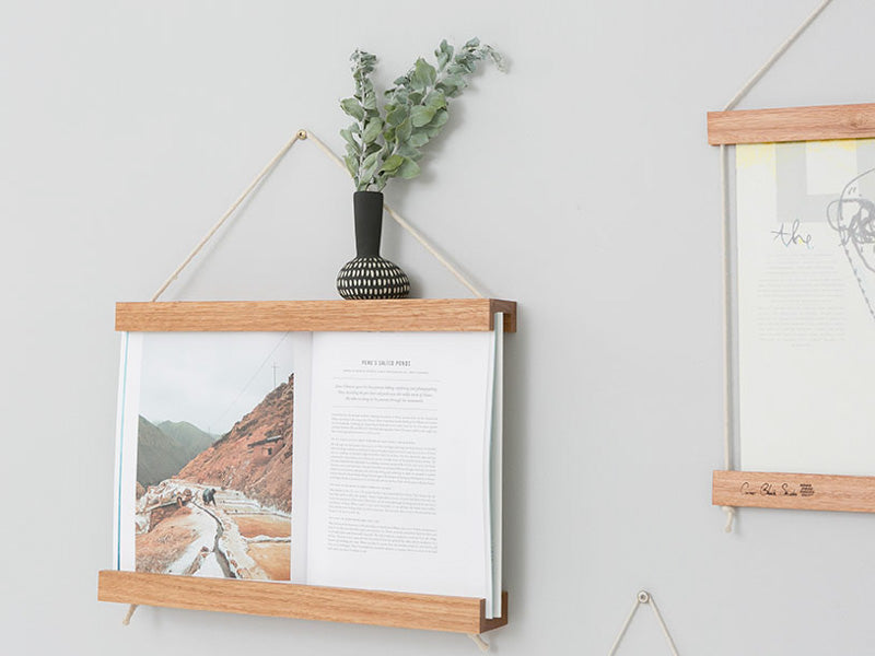 Book Frame by Corner Block Studios - Blonde Hardwood