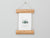 Card Frame by Corner Block Studios - Blonde Hardwood