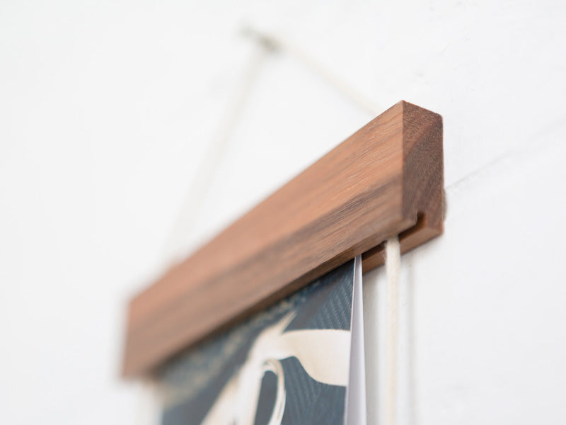 Card Frame by Corner Block Studios - Brunette Hardwood