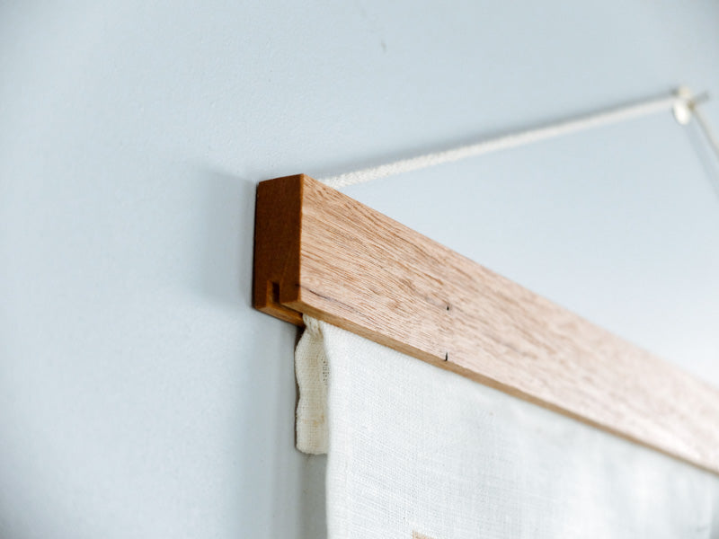 Tea Towel Frame by Corner Block Studios - Blonde Hardwood