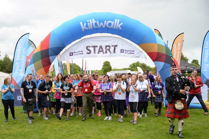 Kilt Walk Edinburgh 15 September 2019