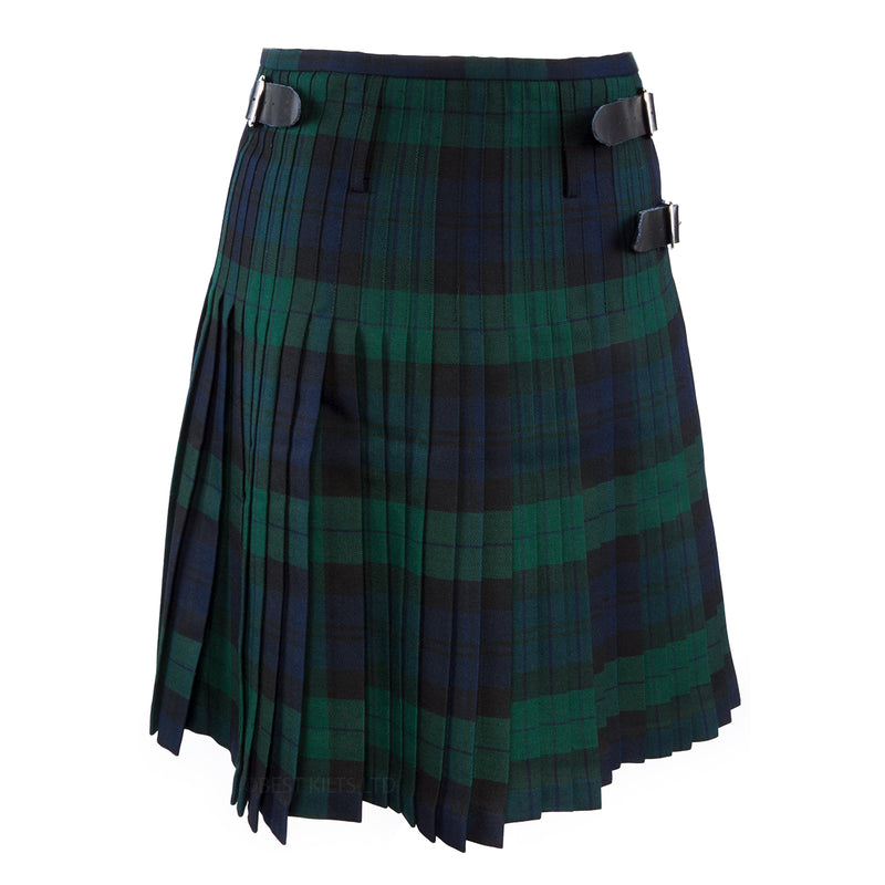 Mens Scottish Traditional 8 Yard Kilt Black Watch