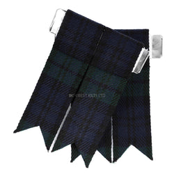 Best Value Kilt Tartan Flashes Black Watch