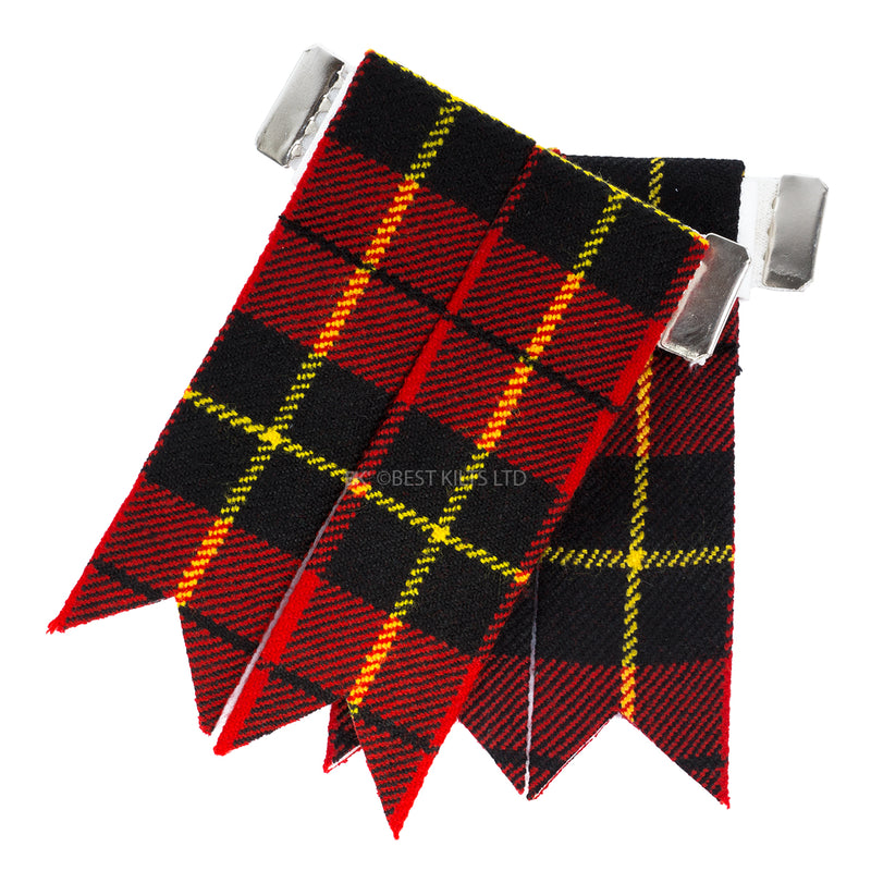 Best Value Kilt Tartan Flashes Wallace