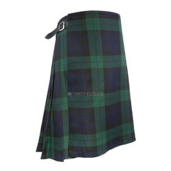 Mens Scottish 5 Yard Party Kilt Black Watch