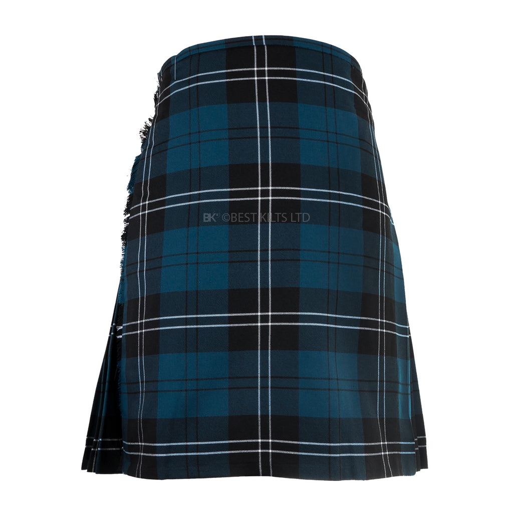 Mens Scottish 5 Yard Party Kilt Ramsay Blue