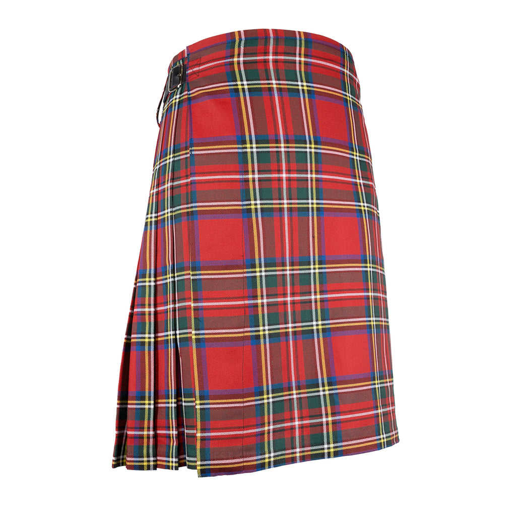 Mens Scottish 5 Yard Party Kilt Royal Stewart