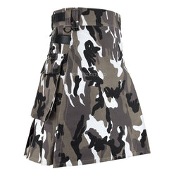 Men Urban Camouflage Tactical Army Utility Kilt