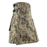 Men US ACU Camouflage Tactical Army Utility Kilt