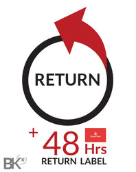 UK Return Exchange Service + Track 48 Return Label