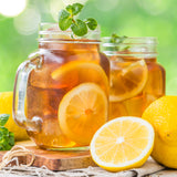 Fiber Iced Tea with Lemon. 10 packets per box. 0g Protein & 1g Net Carbohydrates. Soy Free. Gelatin Free. Kosher