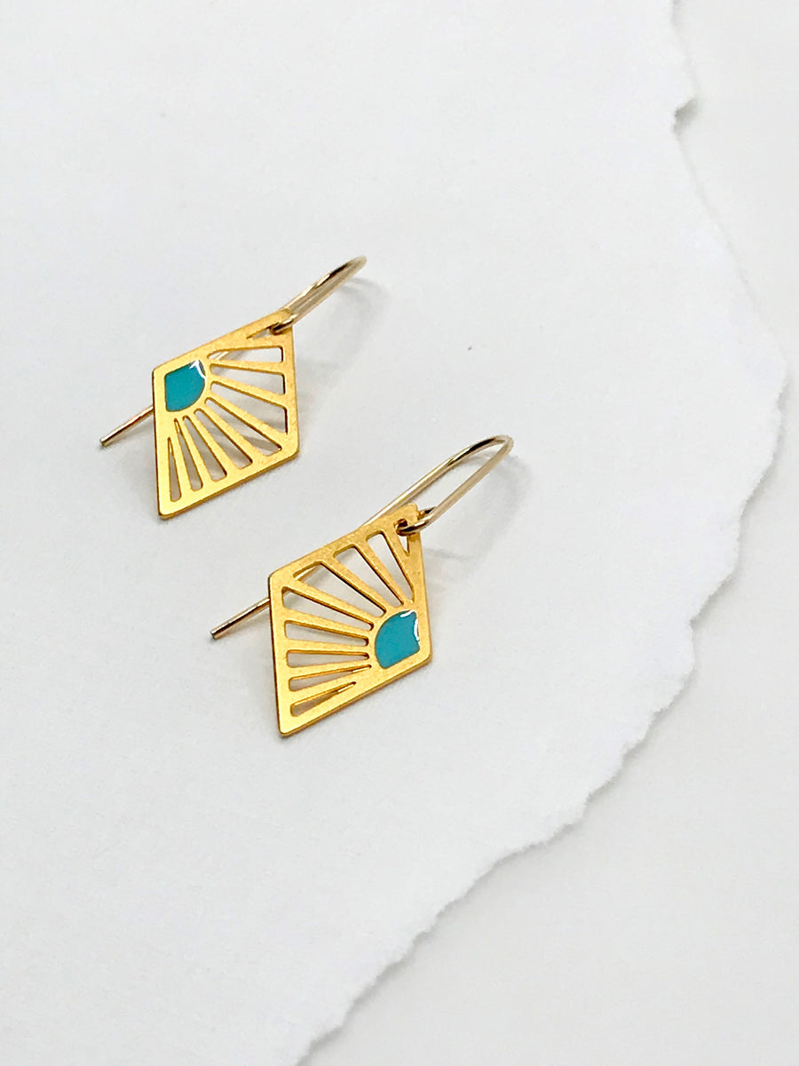 Sunrise Diamond Earrings
