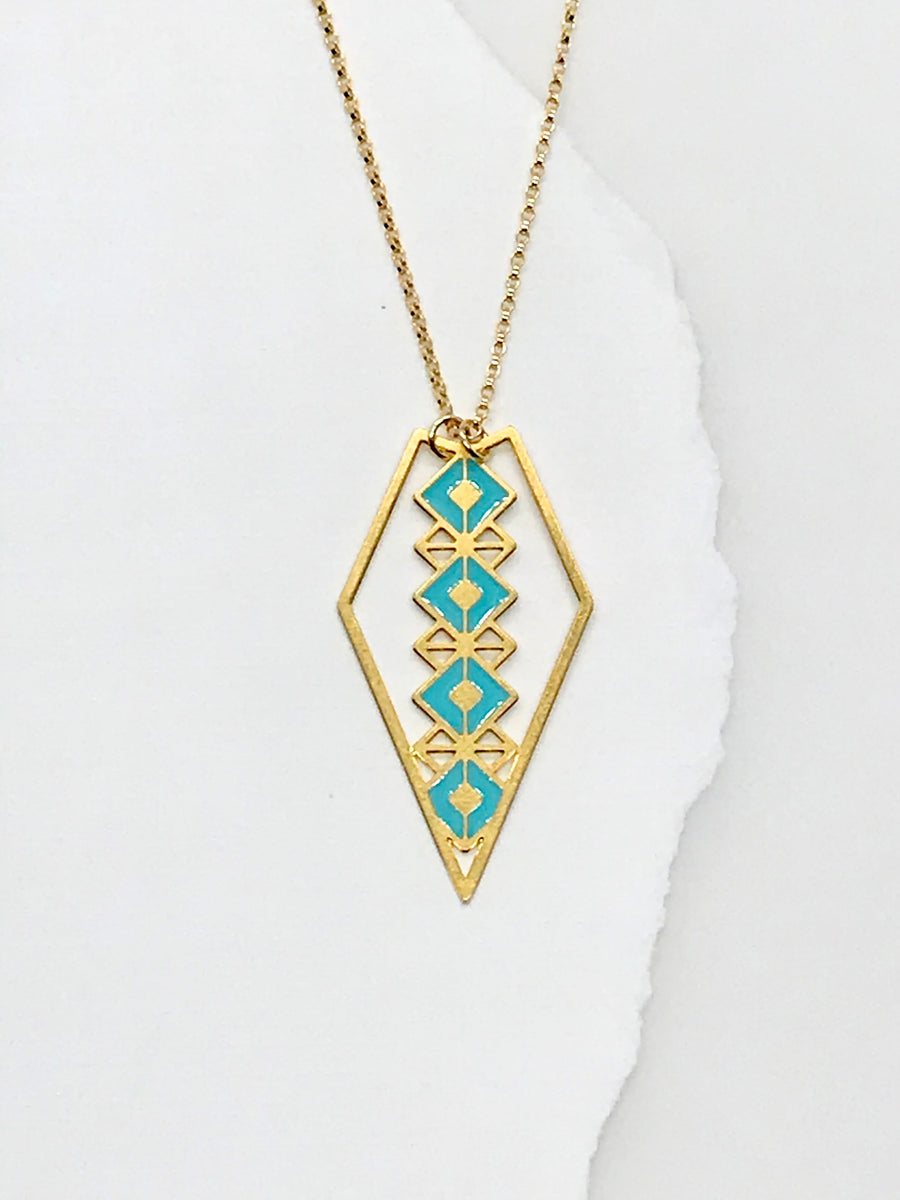 Large Delicate Diamond Necklace
