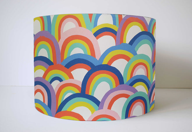 Rainbow Lampshades