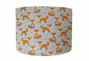 Blue Fox Lampshade