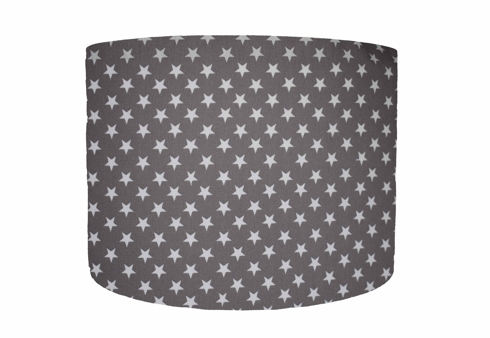 charcoal grey star lampshade