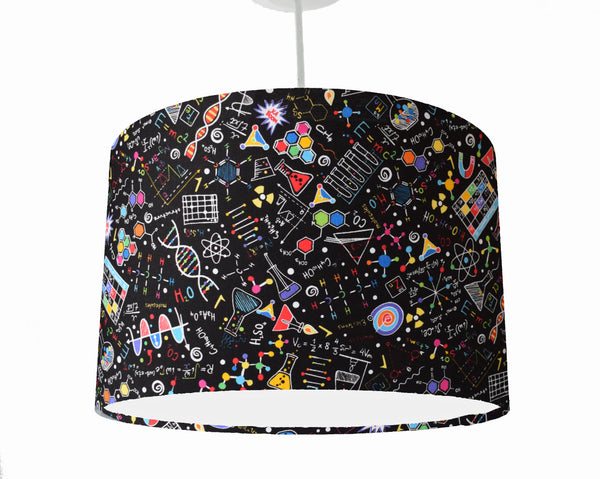 Maths and Science Ceiling Light Shade