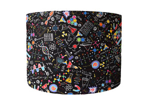 Science Lampshade in Black