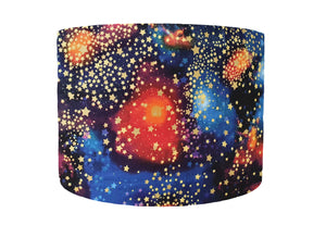 colourful galaxy lampshade