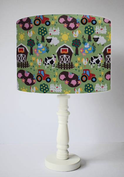 Farm Scene Nursery Table Lampshade